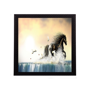 Powerful Horse Satin Matt Texture UV Art Painting
