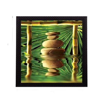 Stone In Water Satin Matt Texture UV Art Painting