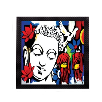 Spiritual Lord Buddha Satin Matt Texture UV Art Painting