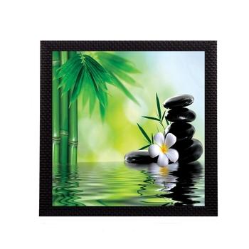 Water Lily Flower Satin Matt Texture UV Art Painting