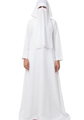Nida Matte Abaya And Naqaab Combo Made In Nida Matte Fabric