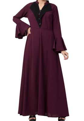 Modest Dress For Fashion Loving Women Made in Nida Matte fabric