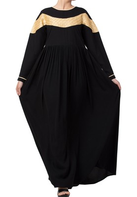 Modest Dress For Special Occasions Made In Nida Matte Fabric