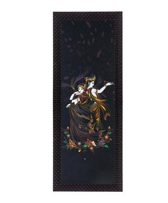 Dancing Radha Krishna Satin Matt Texture UV Art Painting