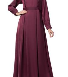 Latest Designs Of Abaya Dress Made In Premium Nida Fabric