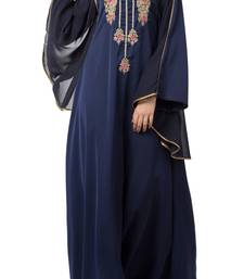 Royal Abaya Dress With Dabka Work For Special Occassions Made In Premium Nida Fabric