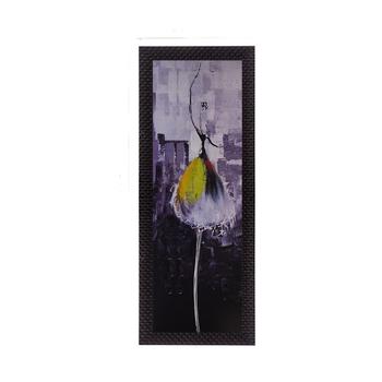 Dancing Girl In Yellow Satin Matt Texture UV Art Painting