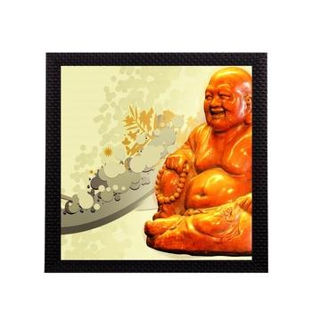 Laughing Buddha Satin Matt Texture UV Art Painting