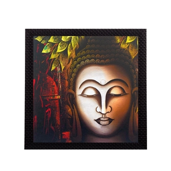 Face Of Buddha Satin Matt Texture UV Art Painting