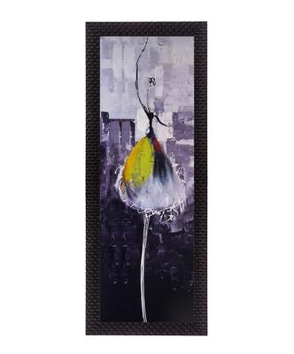 Yellow Dancing Girl Satin Matt Texture UV Art Painting