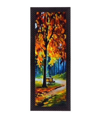 Scenic view Satin Matt Texture UV Art Painting