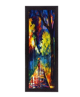 Scenic Night Satin Matt Texture UV Art Painting