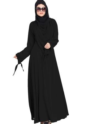 Latest Abaya Design with Detachable Shawl