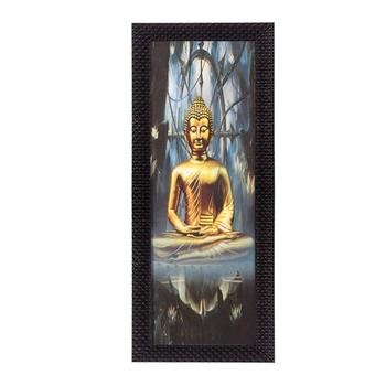 Almighty Lord Buddha Satin Matt Texture UV Art Painting