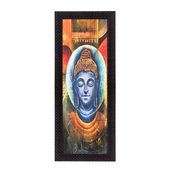 Face Of Lord Buddha Satin Matt Texture UV Art Painting