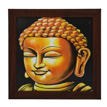 Lord Buddha Design Satin Matt Texture UV Art Painting