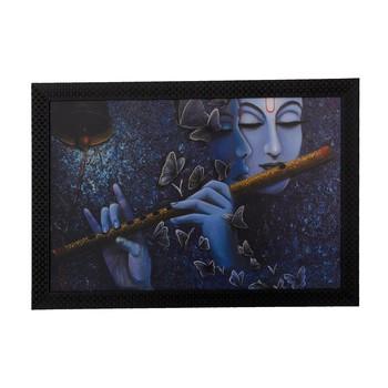 Radha Krishna Love Moments Satin Matt Texture UV Art Painting