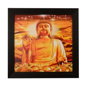 Blessing Buddha Satin Matt Texture UV Art Painting
