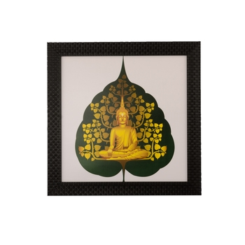 Spritual Buddha Satin Matt Texture UV Art Painting