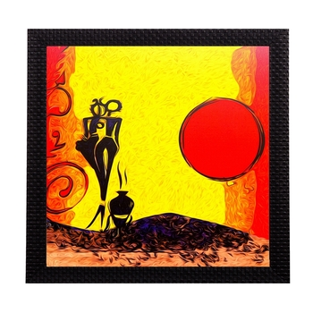Absract Sun Scenic Satin Matt Texture UV Art Painting