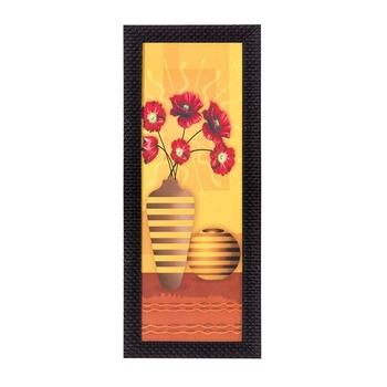 Abstract Vases Satin Matt Texture UV Art Painting