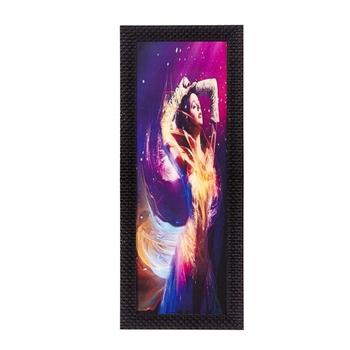 Dream Woman Satin Matt Texture UV Art Painting