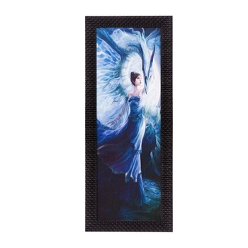 Angel Girl Satin Matt Texture UV Art Painting