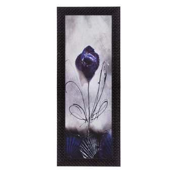 Abstrcat Flower Satin Matt Texture UV Art Painting