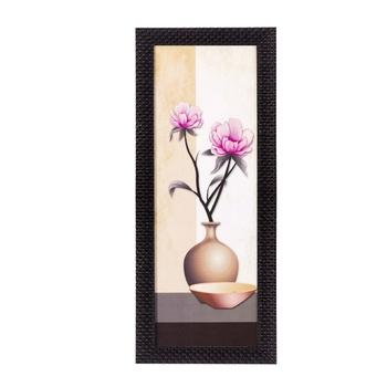 Abstract Vase Satin Matt Texture UV Art Painting