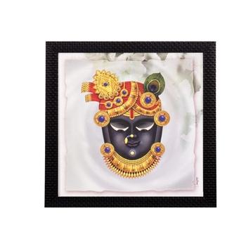 Lord Shreenathji Satin Matt Texture UV Art Painting