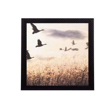 Scenic Flying Birds Satin Matt Texture UV Art Painting