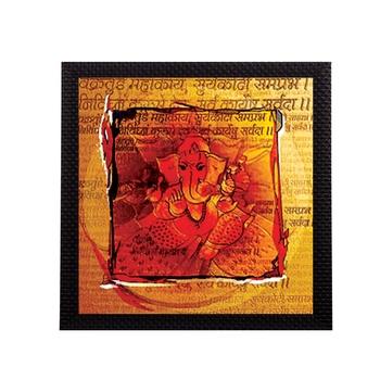 Lord Ganesha Textured UV Art Painting