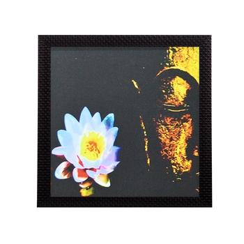 Laughing Buddha Design Satin Matt Texture UV Art Painting