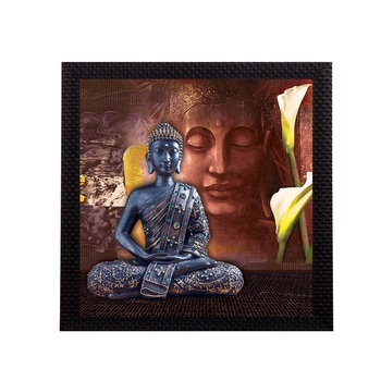 Laughing Buddha Design Satin Matt Texture UV Art Painting