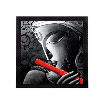 Lord Krishna Matt Texture UV Art Painting