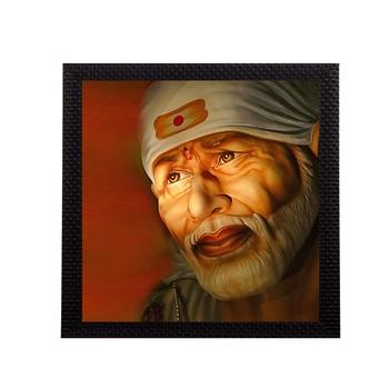 Sai Baba Matt Textured UV Art Painting