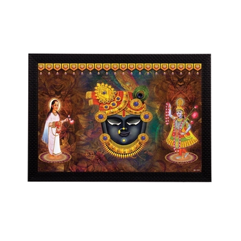 Lord Shrinath Satin Matt Texture UV Art Painting