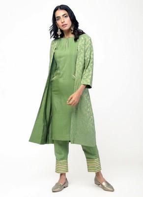 Green Gota Jacket Set