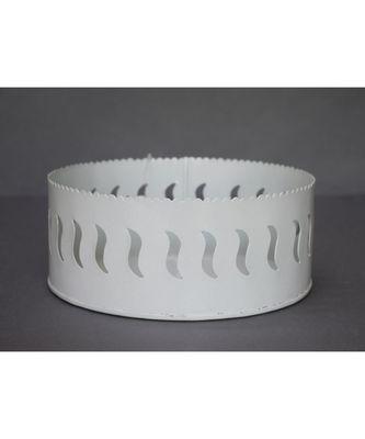 Cutwork Round Basket cum Organiser