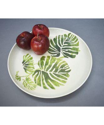 Green Leaf Plate cum Platter