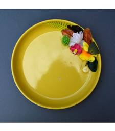 Color Palatte Round Trinket Tray - Yellow