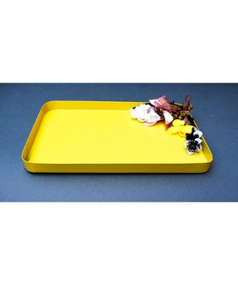 Color Palatte Rectangle Trinket Tray - Yellow