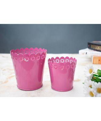 Color Palatte Pink Planter Set