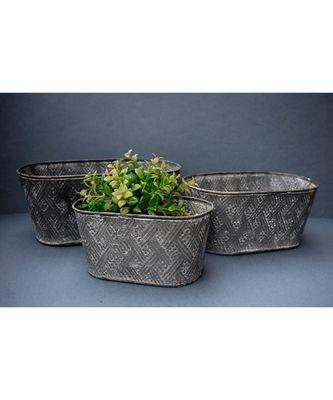 Bucket Planters Set of 3