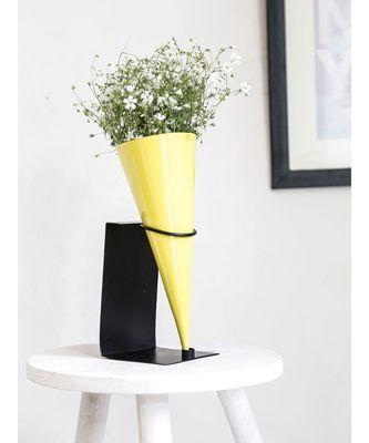 Color Palatte Cone Vase