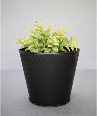 Black Embossed Planter