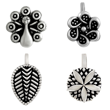 Silver jewellery-combo