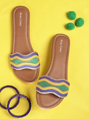 Women's Ethnic Multicolor Flats