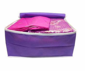Atorakushon® Fabric Saree Cover Garments Wardrobe Organiser Pack of 6