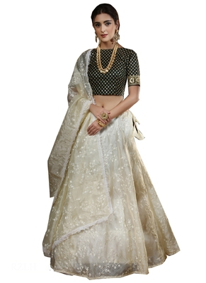 Off-white embroidered